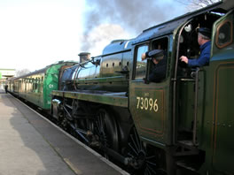 Watercress line railway